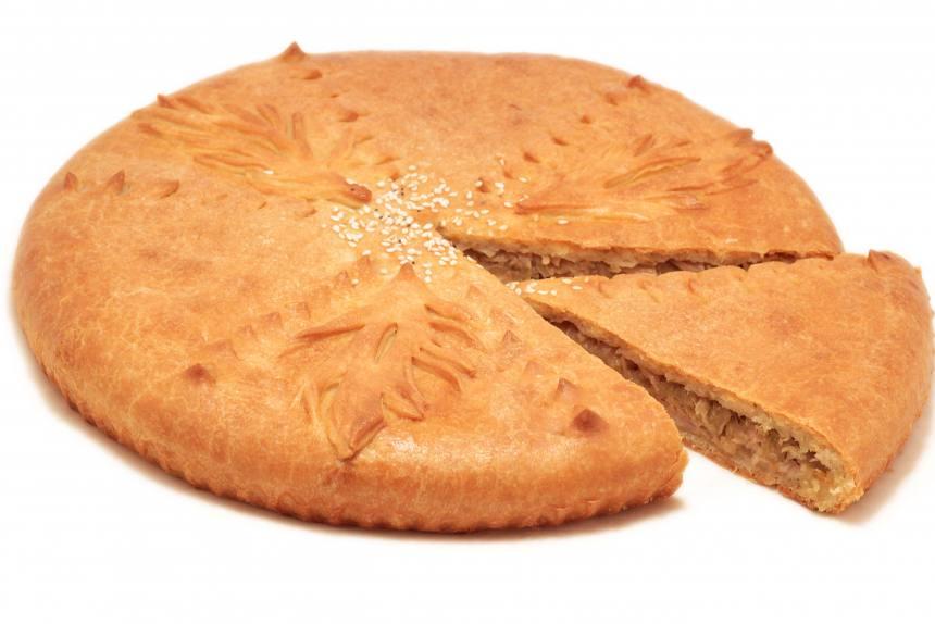 Пирог с курицей и капустой 1,0 кг