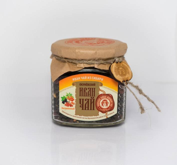 Иван-чай витаминный стекл. банка 100 гр.