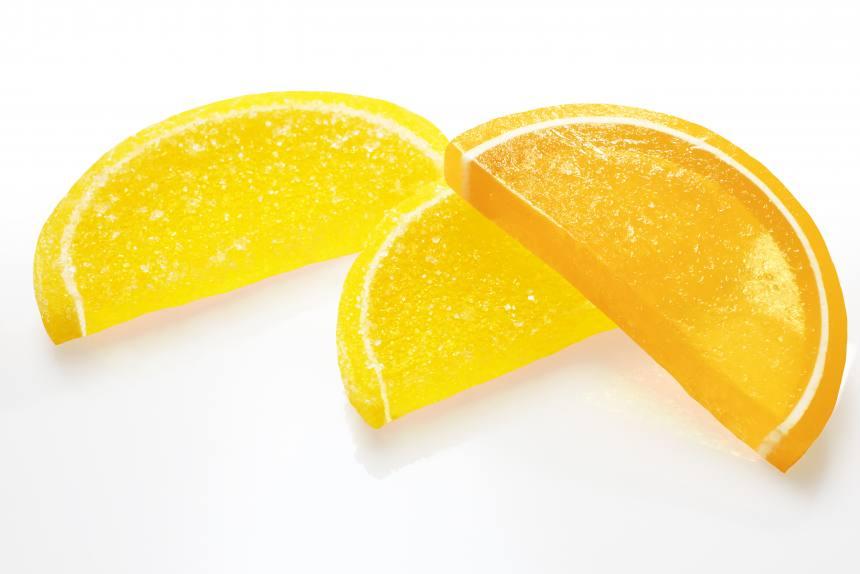 """Мармелад """"Веселые фрукты""""лимон-апельсин TV 3кг"""