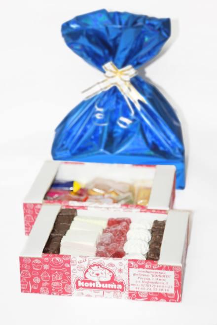 Новогодний подарок №2 TV 1,250 кг (мешок синий)