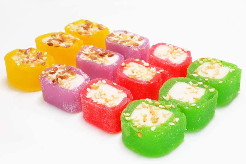 """Мармелад """"Сакура"""" сладкие суши TV"""