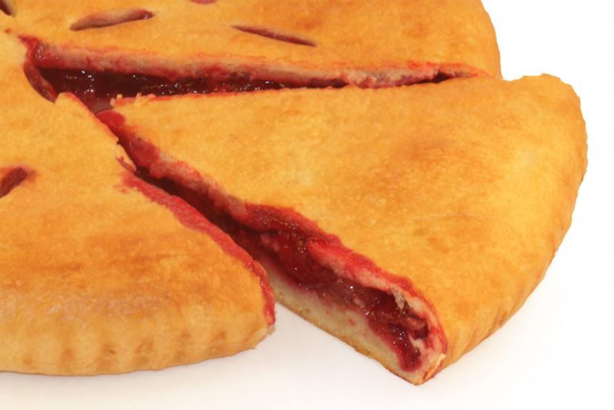 Пирог с вишней 0,5кг