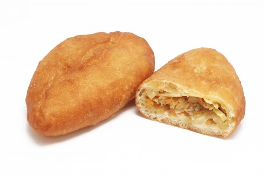 Пирожки жареные с капустой 0,075 кг (5 шт)