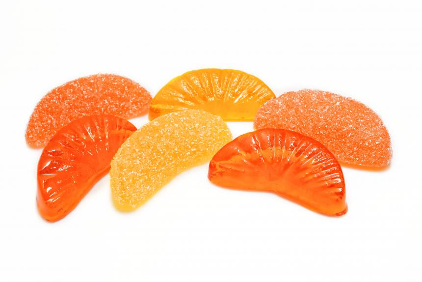 "Мармелад ""Лучики"" апельсин, лимон TV"