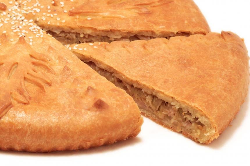 Пирог с курицей и капустой 0,5 кг