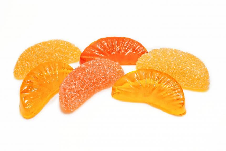 "Мармелад ""Лучики"" жев. апельсин,лимон TV 2,2кг"
