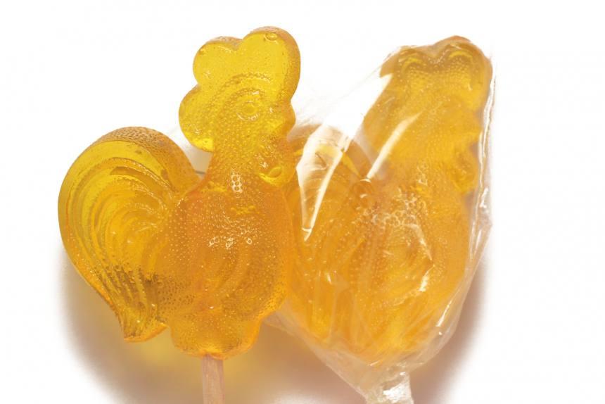 "Конфеты ""Петушок""лимон TV 0,9 кг (64шт мал)"