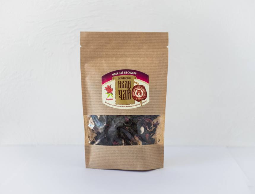 Иван-чай каркаде м/пакет 50 гр.