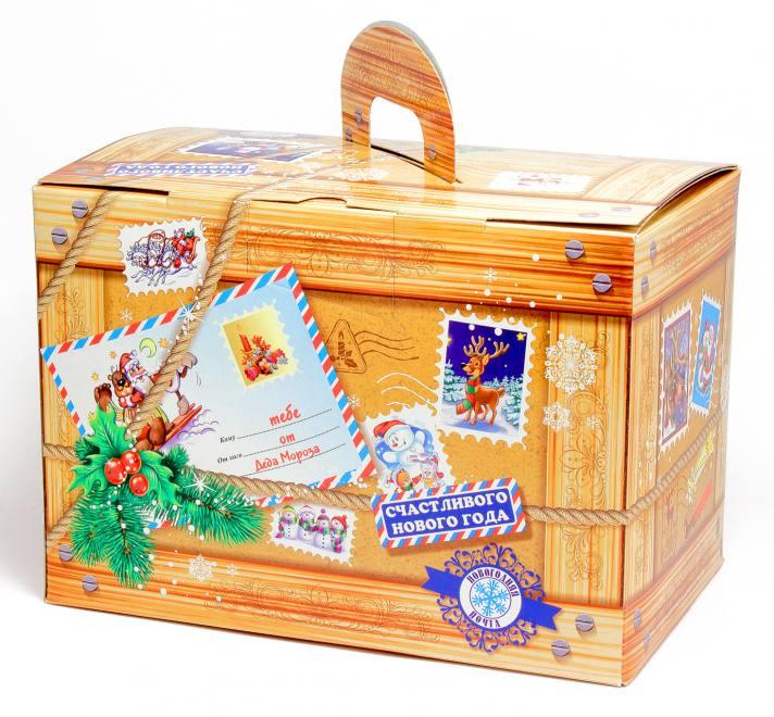 "Новогодний подарок ""Посылка Деда Мороза"" 1,05 кг"