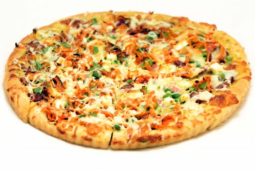 Пицца с фасолью 0,600 кг