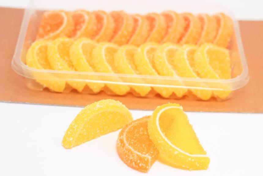 """Мармелад """"Веселые фрукты""""лимон-апельсин 0,260кг"""