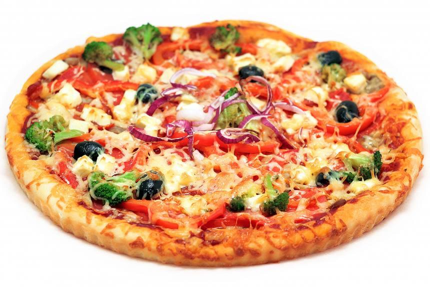 Пицца с брокколи 0,600 кг
