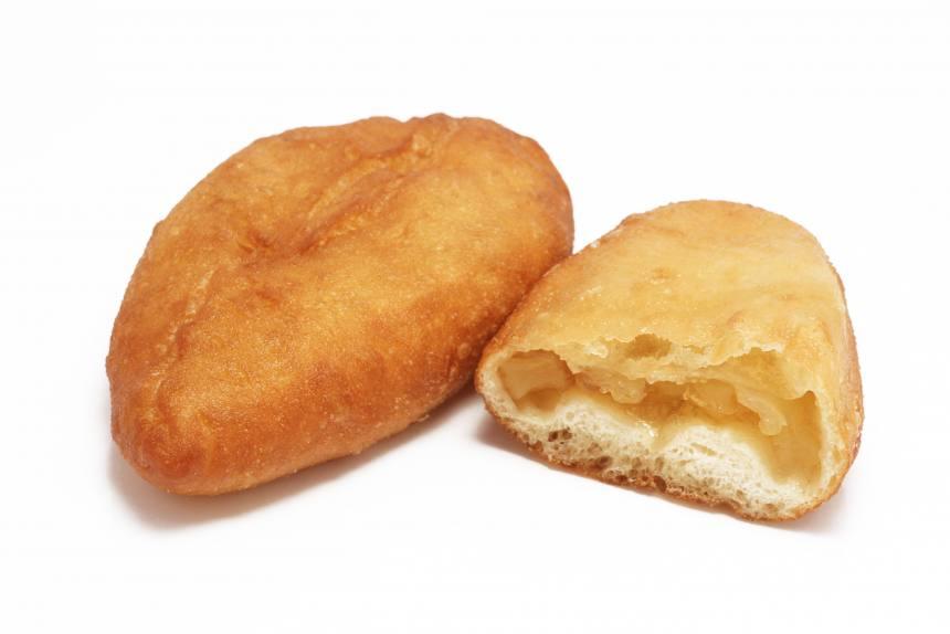 Пирожки жареные с яблочной начинкой 0,075 кг (9 шт)